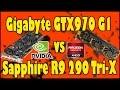 Gigabyte GTX 970 G1 vs Sapphire R9 290 Tri-X - Le due Signore GPU!