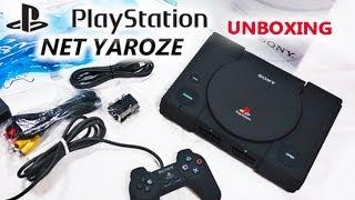 *RARE* Sony PlayStation NET YAROZE Matte-Black Unboxing (Brand-New) - HD 720P