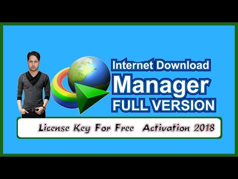 Download Manager 2018 Activate For Lifetime Free Full Version IDM Full Crack