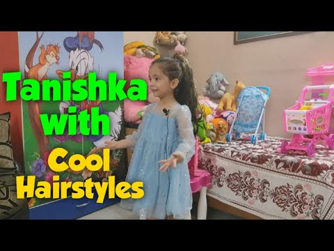 Download Tanishka gets new cool hairstyles