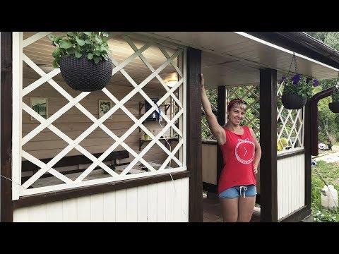 Реставрация дачной садовой беседки своими руками