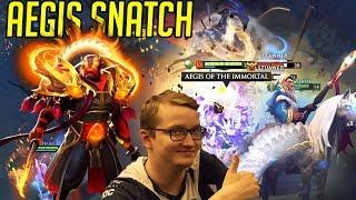 Aegis Snatch and Complimenting Matu - Gorgc Matu Synderen in Dota 2 Game