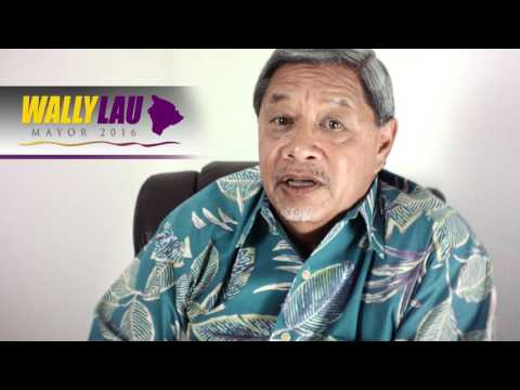Wally Lau for Hawaii County Mayor, on Solid Waste