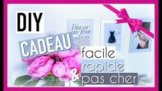 DIY NOËL : CADEAU Mixte Facile, Rapide & Pas Cher ! (diy challenge)