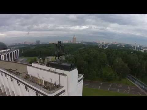 Lost control of DJI Phantom Vision + In Victory Park Moscow