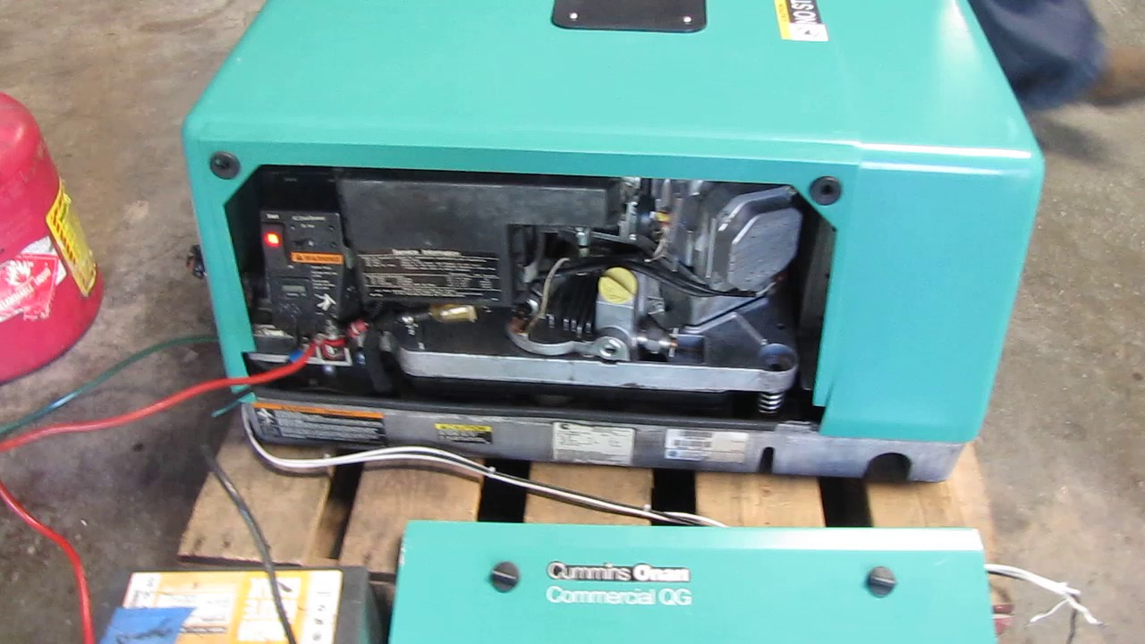 Onan Generator Remote Switch Wiring Diagram 7000 Great Installation Of Cummins Commercial Qg Watt Rv 7 Kw Gas Powered Rh Youtube Com
