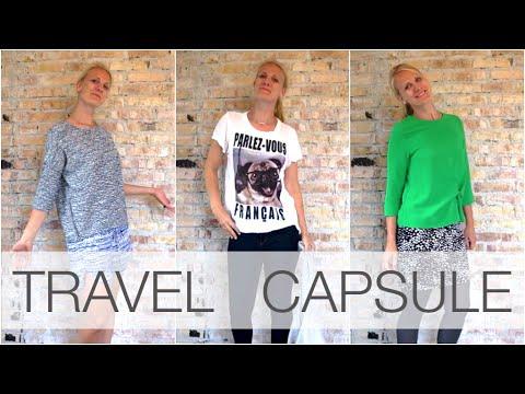 Travel Wardrobe | Capsule Combinations - 9 items