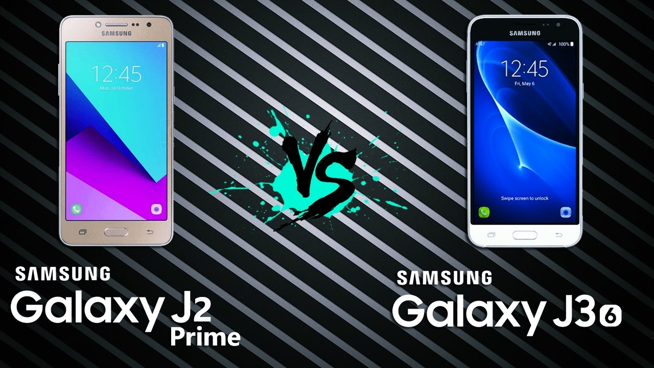 Comparativo  Galaxy J2 Prime Vs Galaxy J3  6