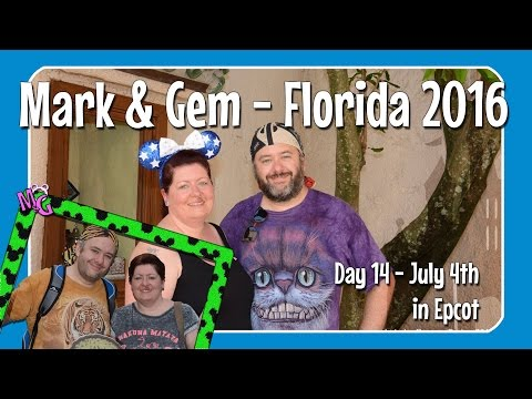 Florida 2016 - Day 14 - July 4th in Epcot!