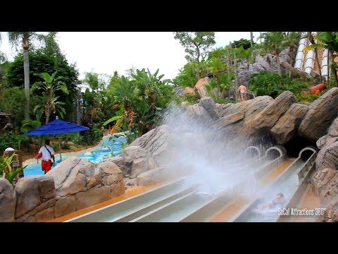 [HD] Humunga Kowabunga Big Drop Water Slide POV - Disney's Typhoon Lagoon