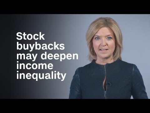 Why stock buybacks may deepen income inequality Mp3