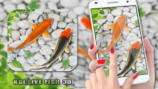 3D Fish Live Mobile Wallpaper | Mobile me Kaise 3D Wallpaper Lagati he screenshot 4
