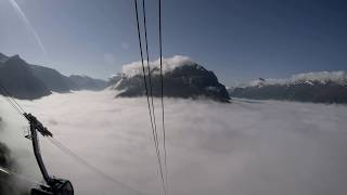 Ascent up Mount Hoven with Loen Skylift