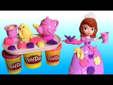play doh sofia tea party set from disney sofia the first