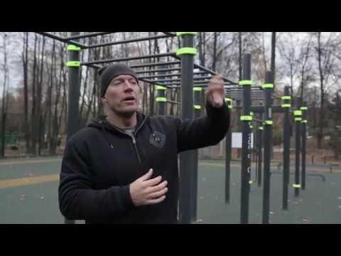 Эффективная и быстрая тренировка на спортплощадке. Тренируйся в любую погоду