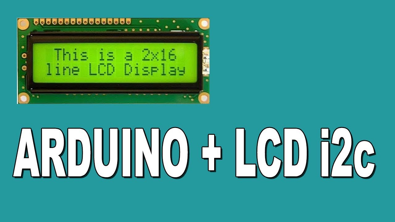 How to connect an I2C LCD Display to an Arduino Uno
