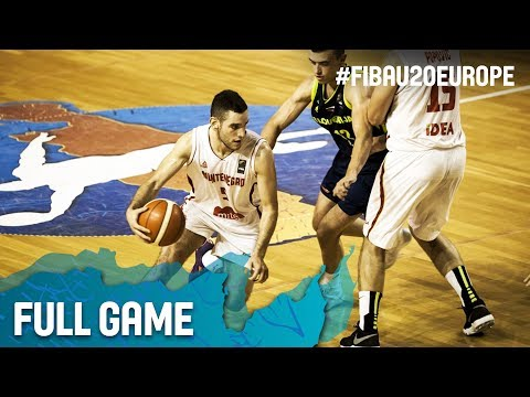 Montenegro v Slovenia - Full Game - Classification 9-16 - FIBA U20 European Championship 2017