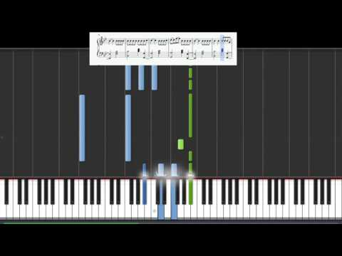 The Script - Hall of fame ft. wii i am(+sheet) (50% speed Piano tutorial)