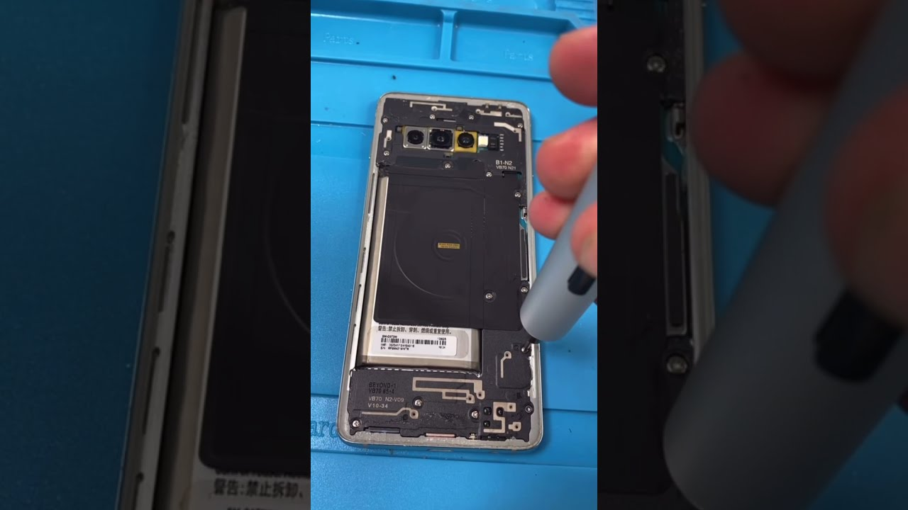 What Was My First Job Before Fixing Phones? S10 Repair #Shorts