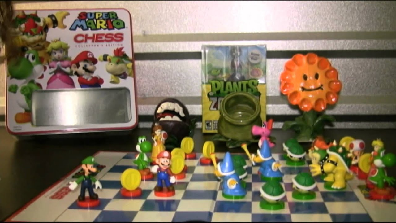 Cgr undertow super mario chess board game review part 1 Where can i buy a chess game