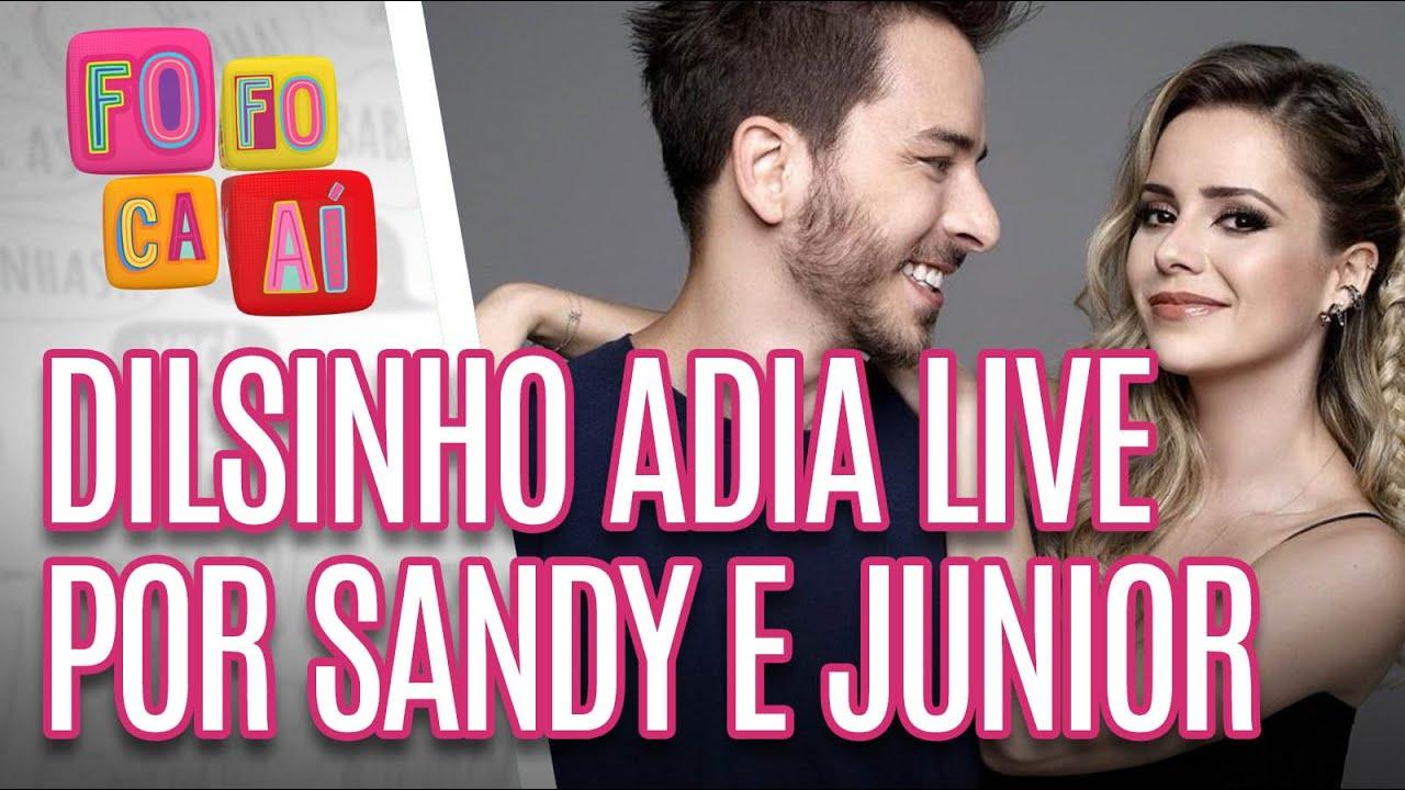 LIVE de Sandy e Junior faz Dilsinho remarcar a sua - Fofoca Aí (20/04/20)