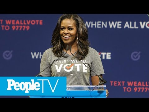 Michelle Obama Says She 'Stopped Even Trying To Smile' During Donald Trump's Inauguration   PeopleTV Mp3