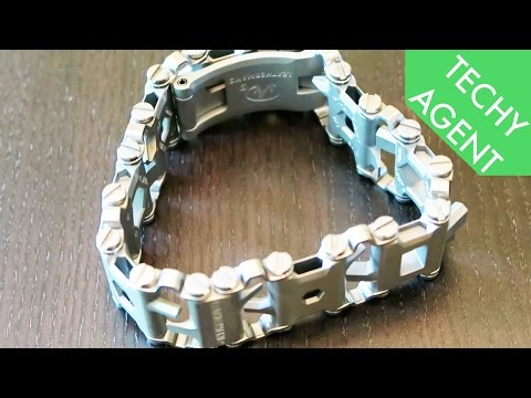LEATHERMAN TREAD Multi-Tool Band - Hands On REVIEW