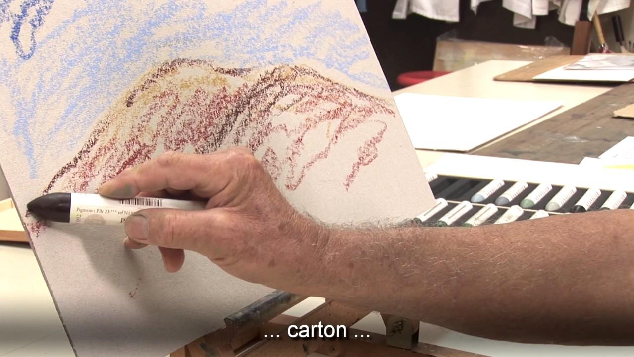 Technique Au Pastel A L Huile Sennelier Youtube