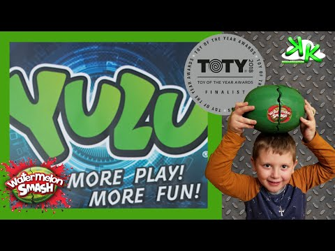 Watermelon Smash by Yulu Outdoor Party Game Water Play Roulette Fun Family