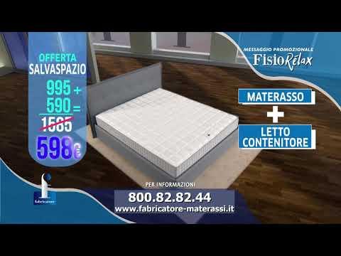 Materassi Fabricatore Offerta Televisiva.Fabricatore Offerta Fisiorelax