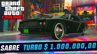 GTA V Online - Sabre Turbo - Carro do Toretto - Vin Diesel Velozes  - Gastando + $ 1.000.000,00