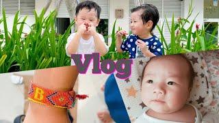 생후 40일 아기 돌보기, 호치민 코로나 일상 Vlog…