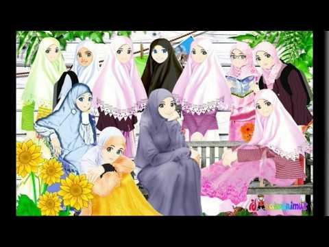 Gambar Kartun Cadar Muslimah Youtube