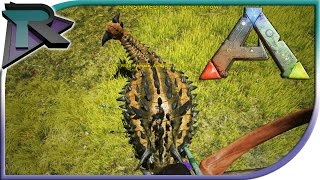 180 0 update taking down an ankylo solo ark survival evolved gameplay 35