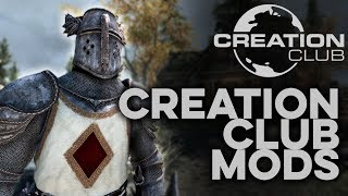 Creation Club Mods on PS4 - Skyrim Special Edition