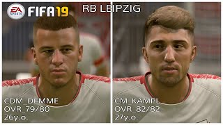FIFA19 NEW REAL FACE LIST PART 5