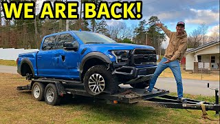 Rebuilding A Wrecked 2019 Ford Raptor!!!