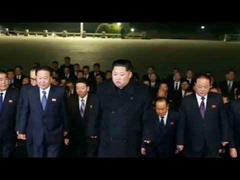 Kim visits mausoleum holding embalmed bodies of former leaders