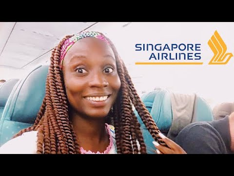 FIRST TIME on Singapore Airlines A330 Economy Class | SUFFERING & SMILING??