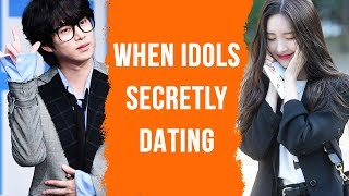 This is how your Kpop idols are secretly dating 😘😘