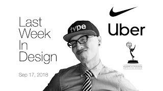 Last Week in Design: Nike Colin Kaepernick, Uber Rebrand, Emmys Main Title Winner