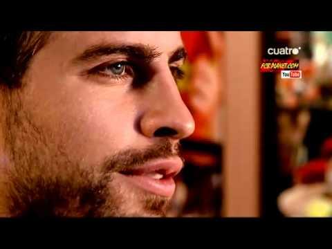 Gerard Piqué se confiesa Mi canción, el Waka Waka mi cantante, Shakira