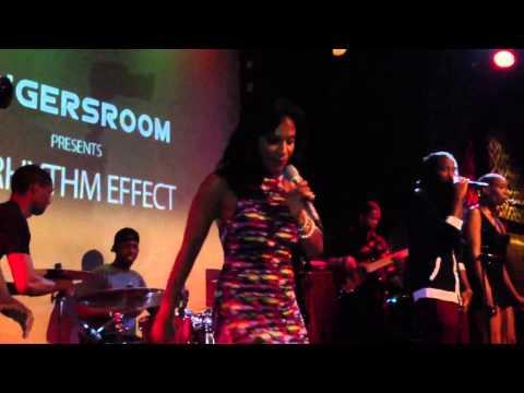 Teedra  Moses performs ' Backstroke ' live at SOB's 2013
