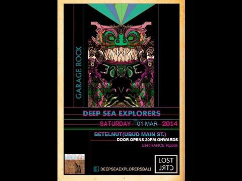 DEEP SEA EXPLORER live music concert march 2014 @ betelNut ubud bali