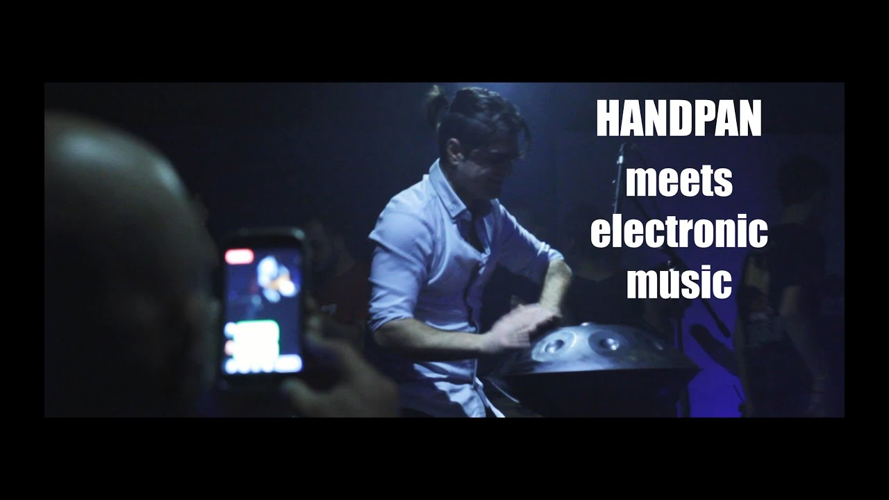 Handpan meets electronic music - Loris Lombardo