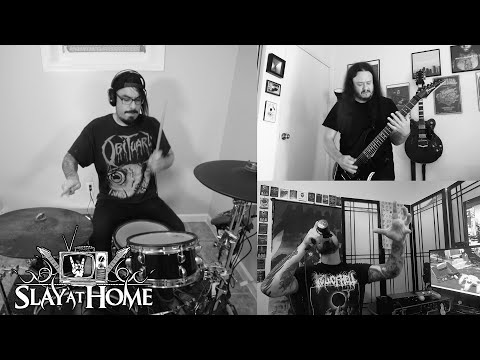NITESOIL w/ Riley McShane (ALLEGAEON) From Slay At Home Fest | Metal Injection