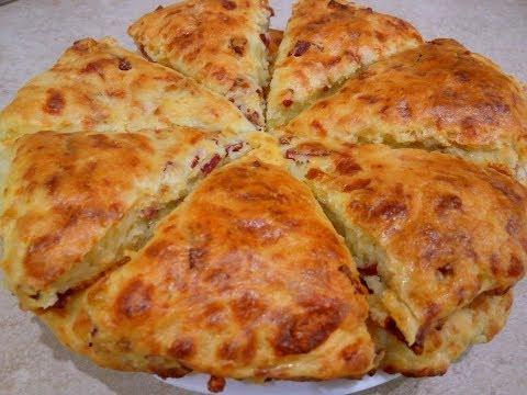 Готовлю Несколько Дней Подряд/ Очень Вкусные СКОНЫ – Рецепт с Сыром и Колбасой