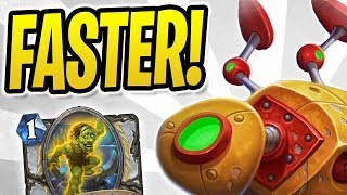 GOTTA GO FAST!  | OTK Combo Priest | Test Subject & Topsy Turvy | The Boomsday Project | Hearthstone