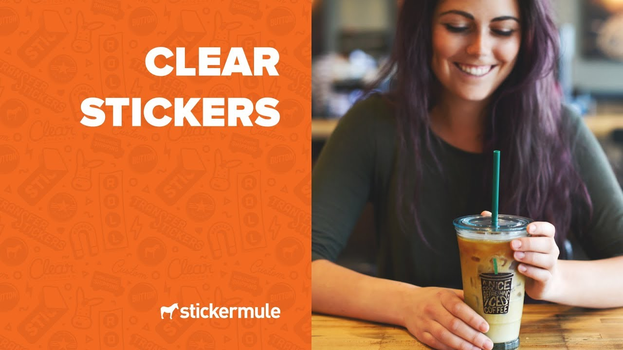 Clear stickers how to make transparent stickers