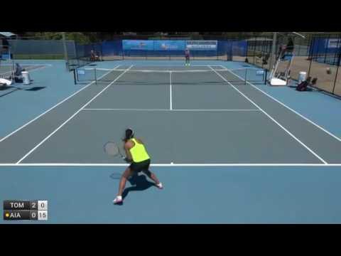 Tomic Sara v Aiava Destanee - 2016 ITF Toowoomba